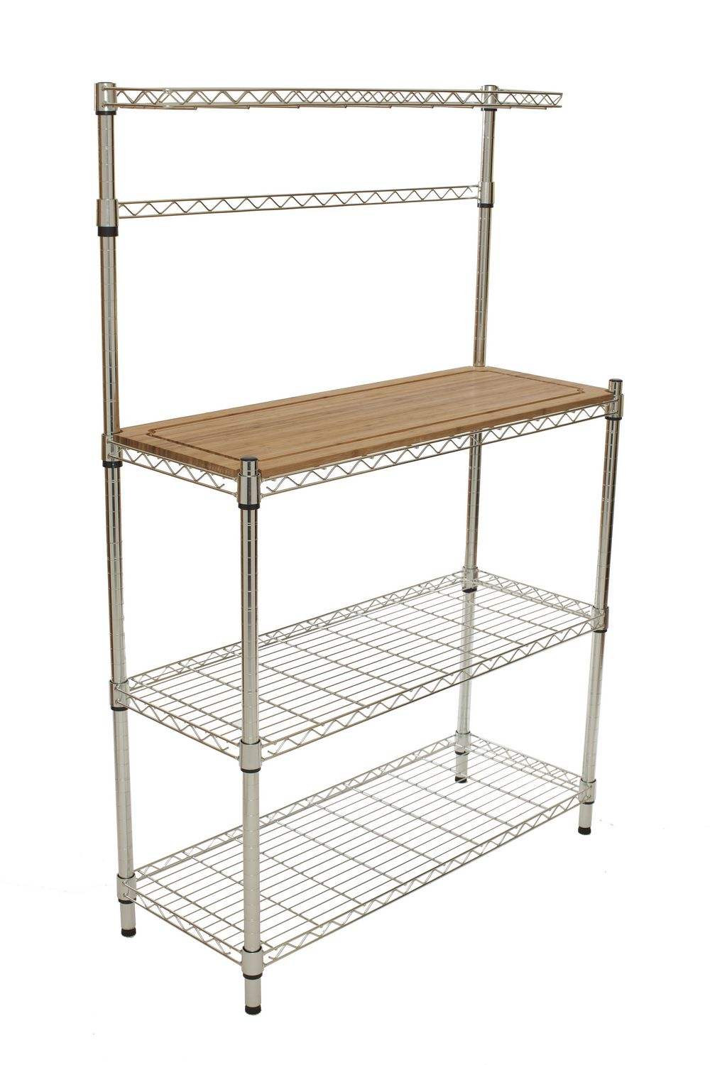 cart of with creative kitchen home utility bakers rack shelf stand furniture microwave storage