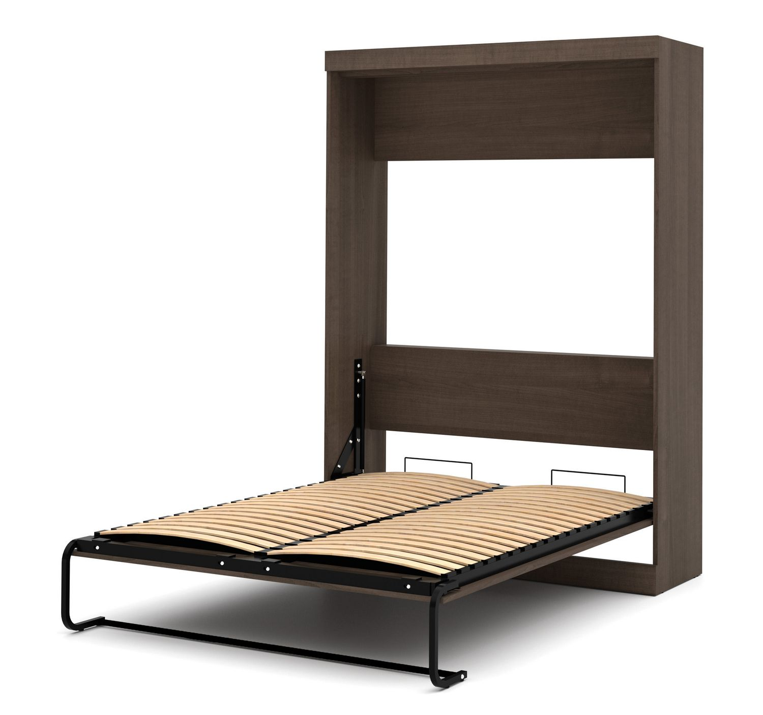 product furniture expand hover wall walnut murphy wood bed in size queen prev compact folding