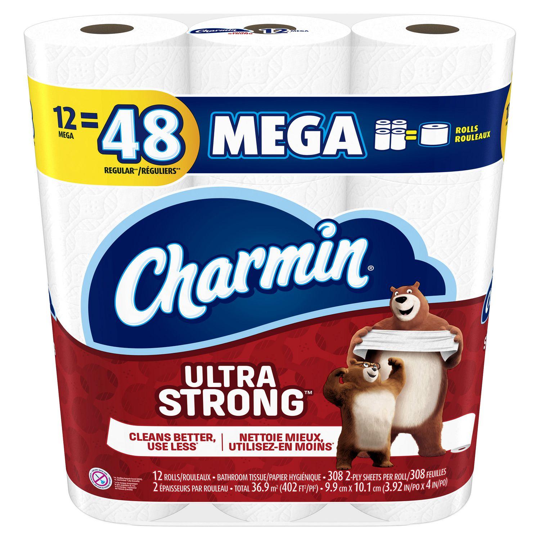 Charmin Ultra Strong Toilet Paper | Walmart.ca