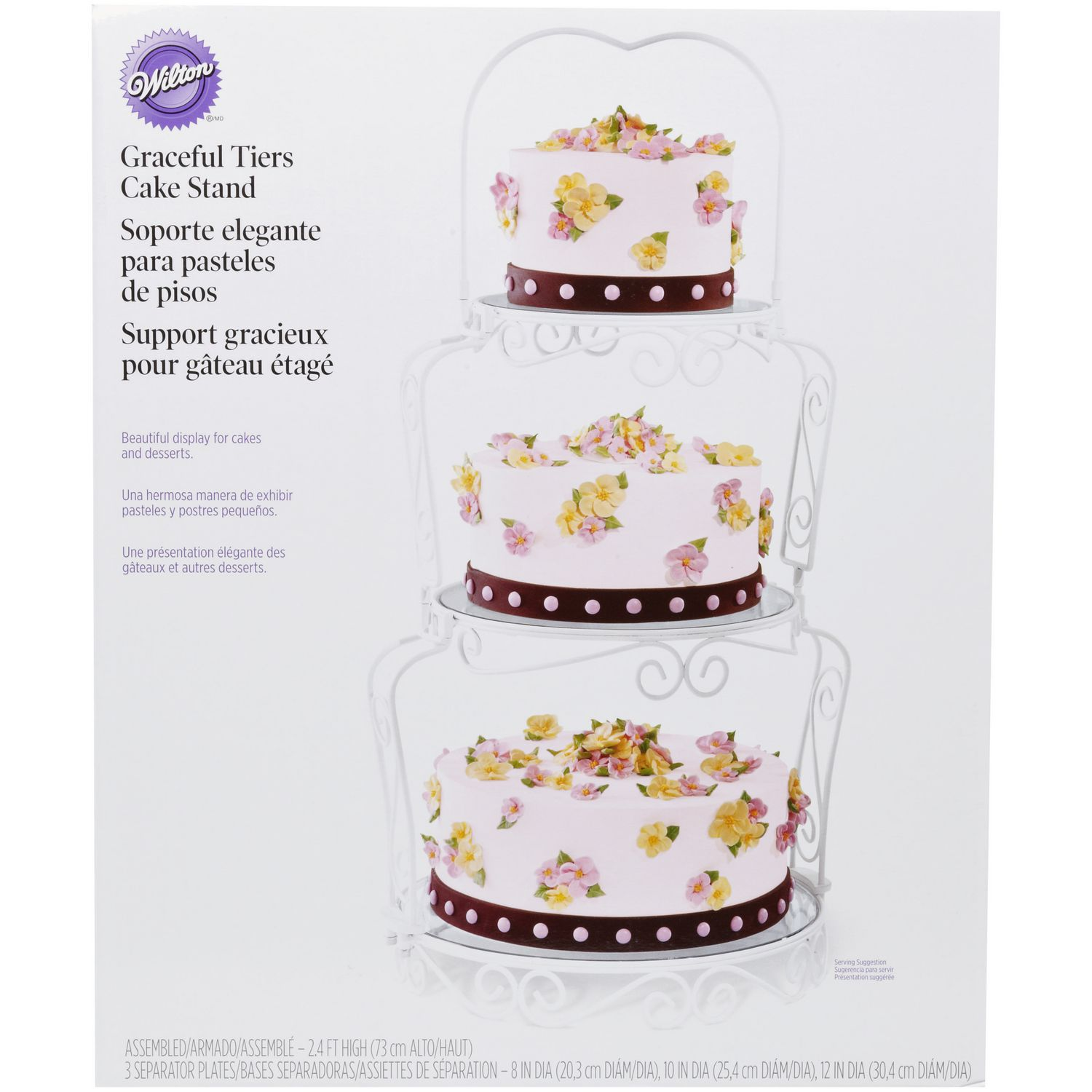 Wilton Graceful Tiers Cake Stand | Walmart Canada