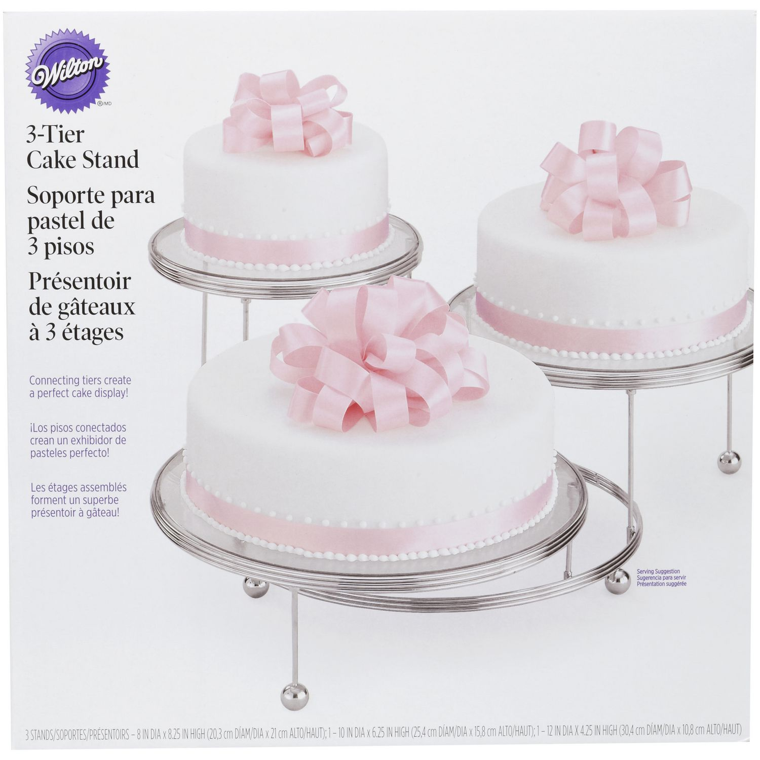 WILTON Cakes \'n More 3-Tier Party Cake Stand   Walmart Canada