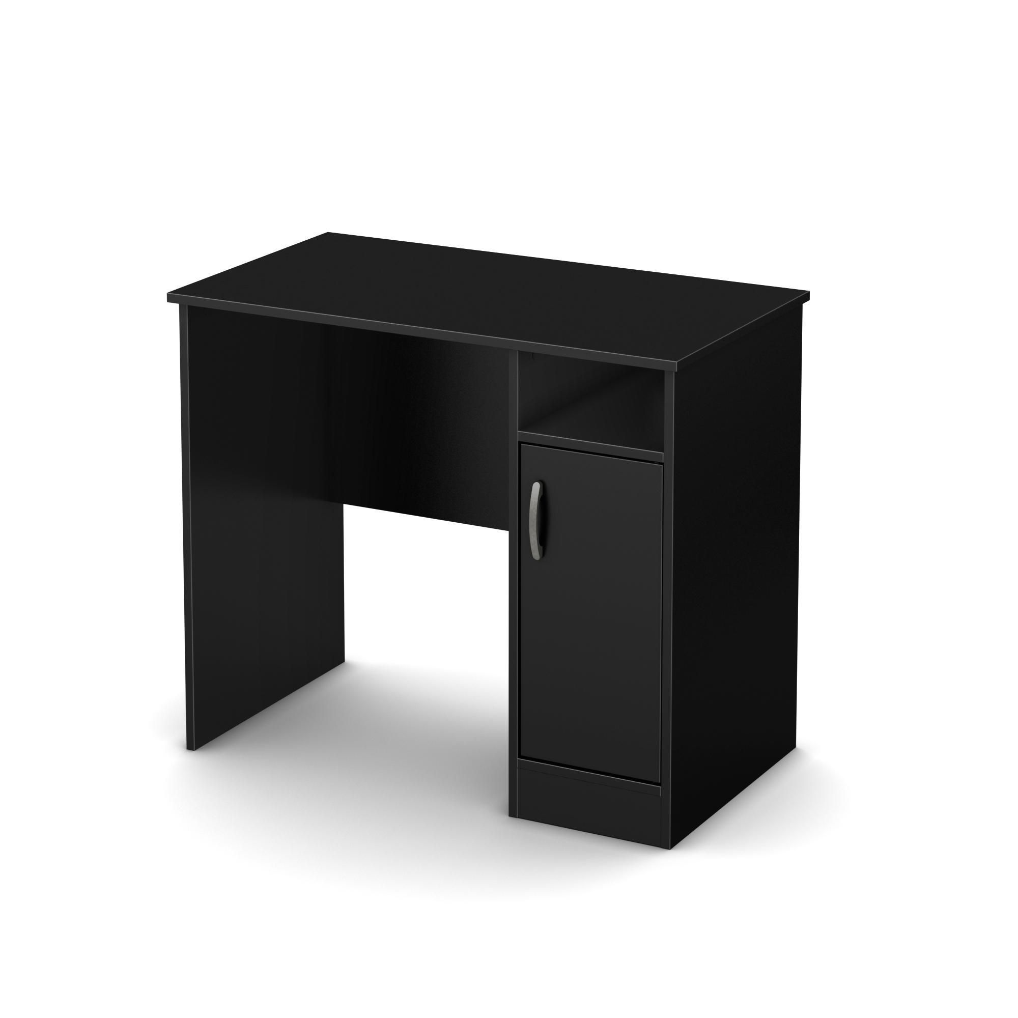 simple small home black axess furniture design pure the desk shore white stores south