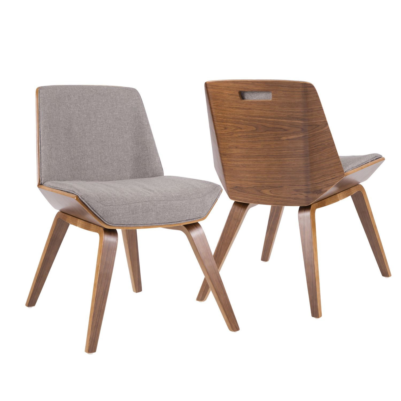 Corazza Mid Century Modern Chair By Lumisource Walmart