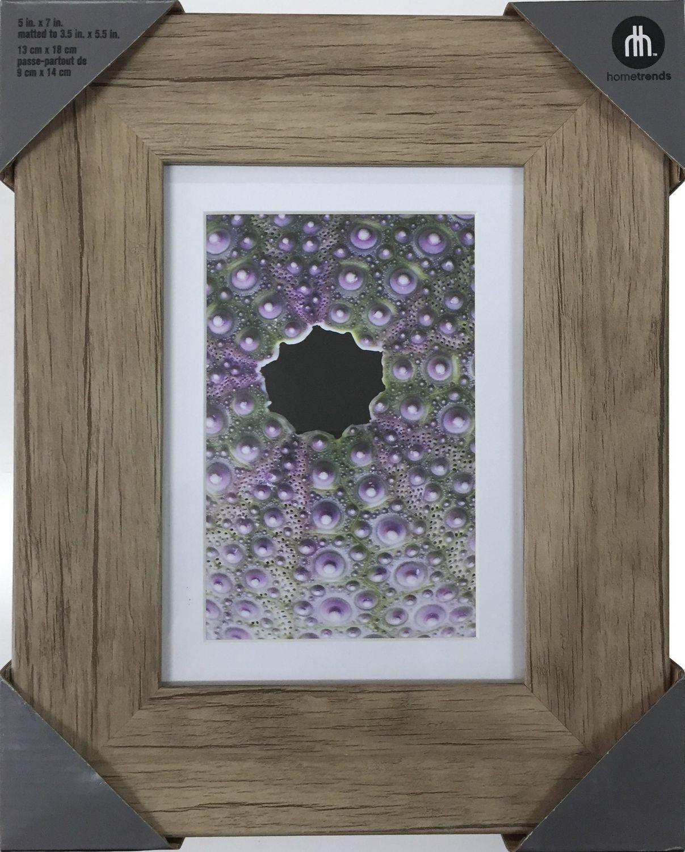 hometrends lewis 5x7 wood photo frame walmart canada