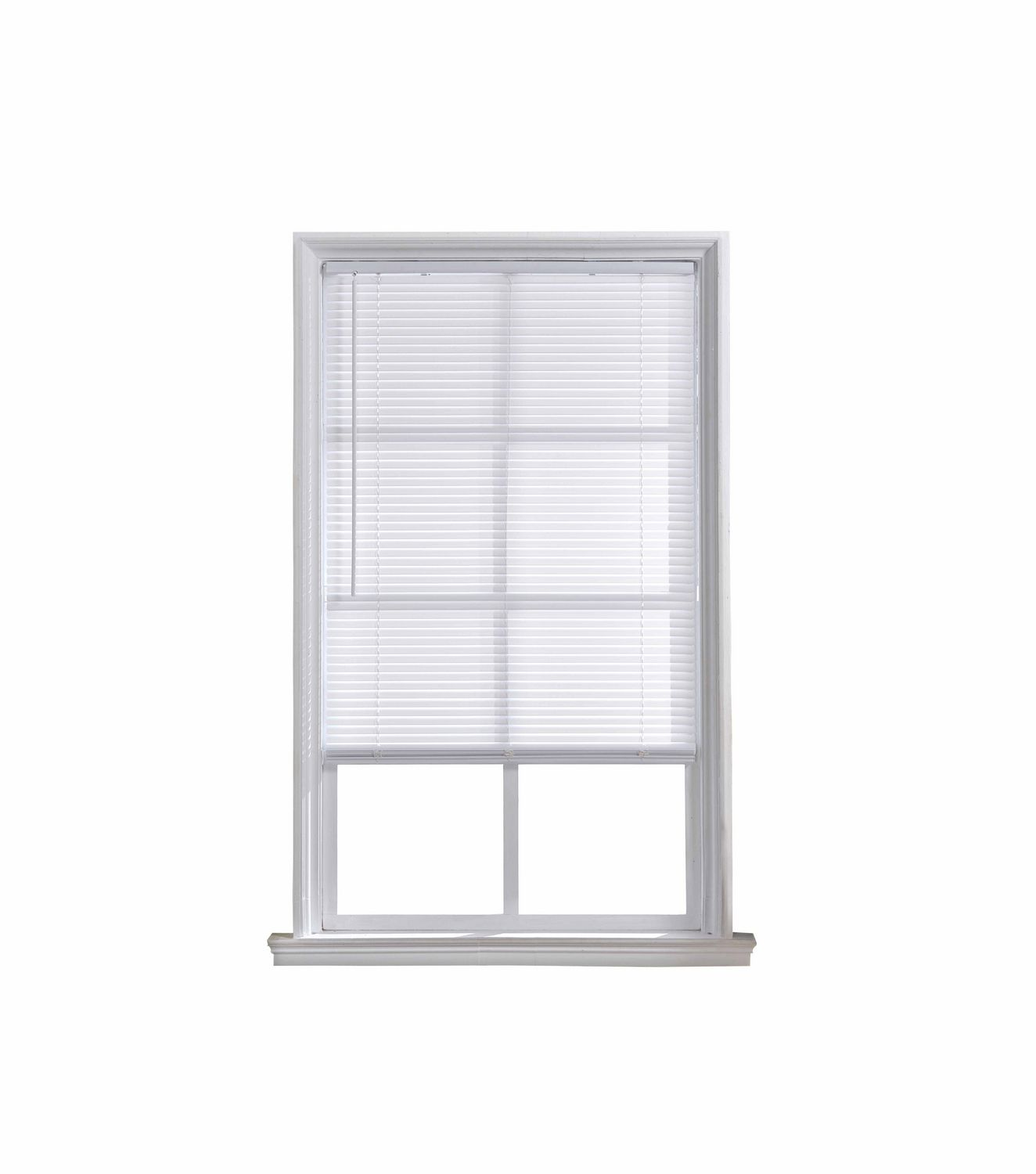 Mainstays 1 Quot Cordless Light Filtering White Mini Blind