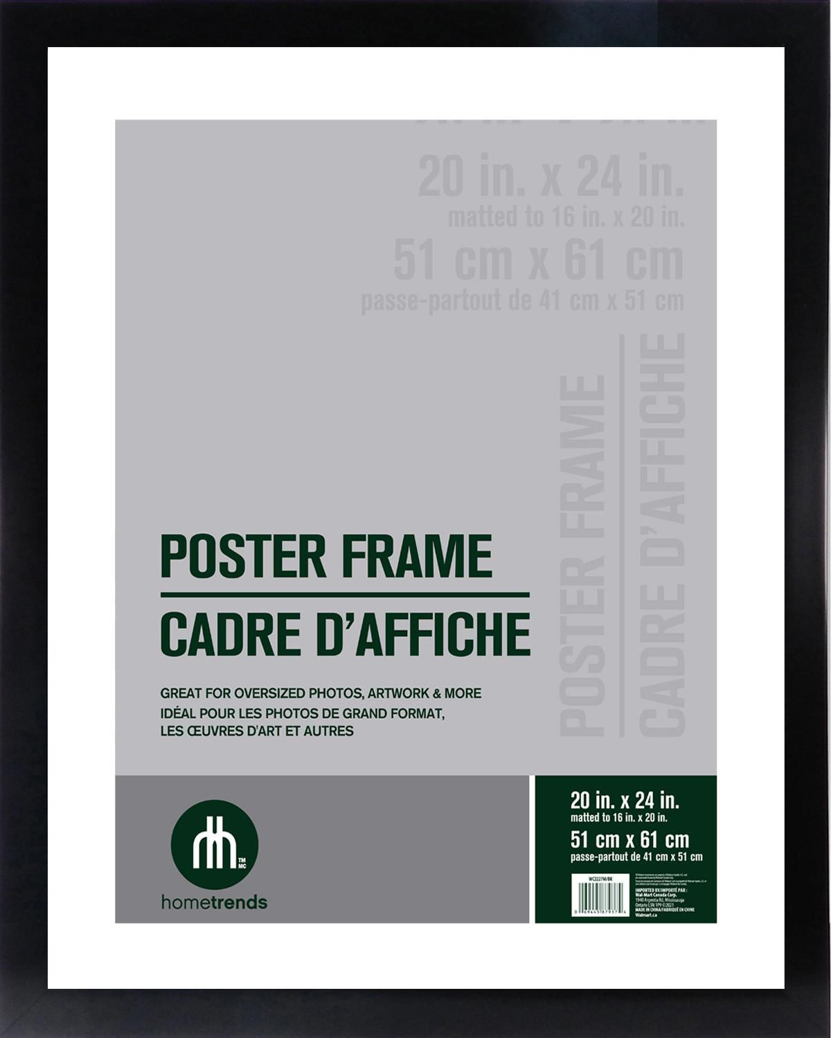 Museum Poster Frame with Hook