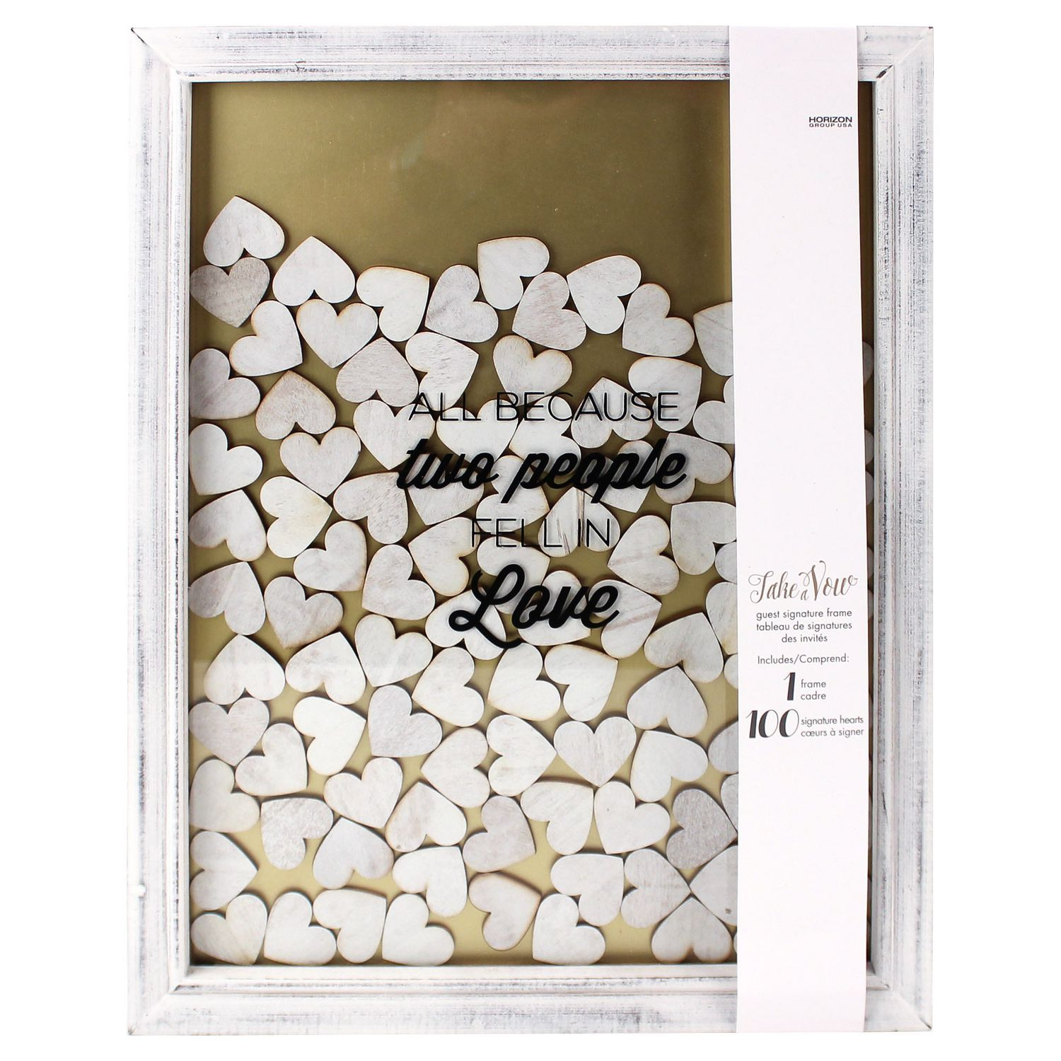 Take A Vow Guest Book Frame Walmart Canada