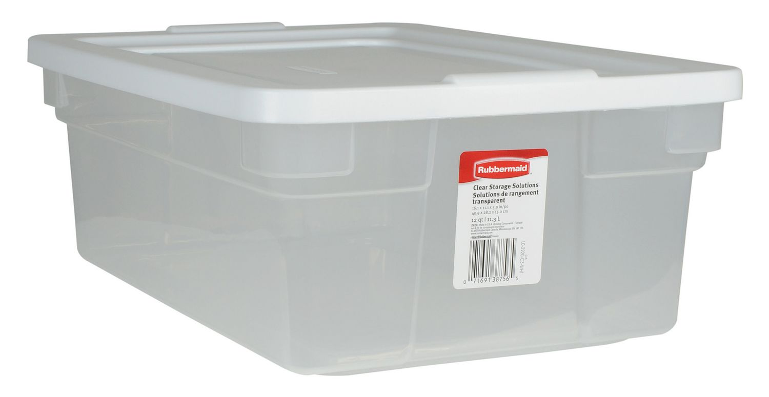 Charmant Rubbermaid 11.3 L Storage Container   Image 1 Of 1 Zoomed Image