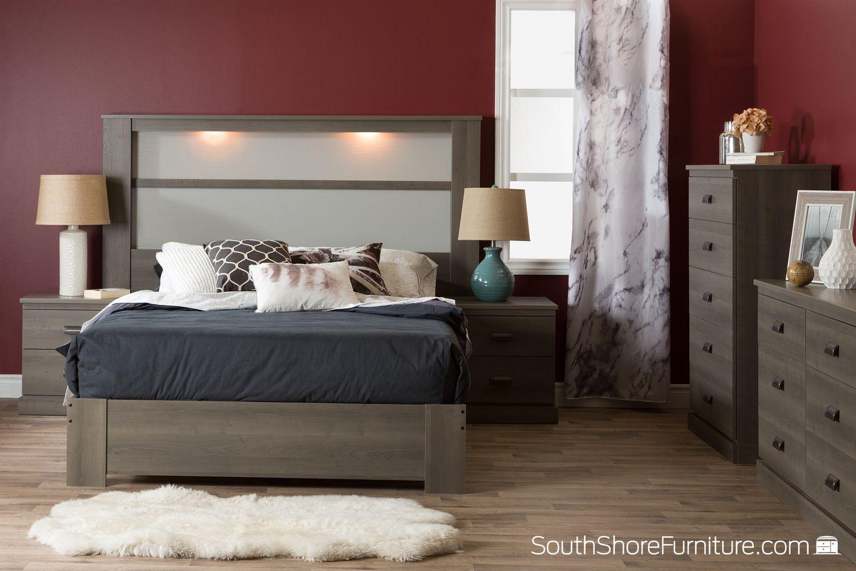 for sets bedroom shore spark bed of set south creative full black inspirational north sale size furniture