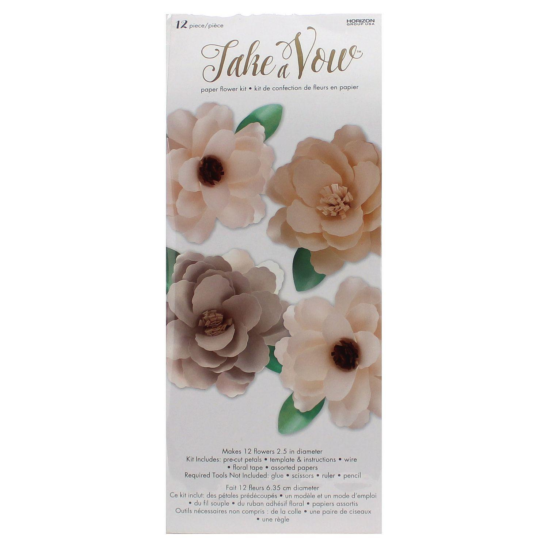Take A Vow Paper Flower Kit | Walmart Canada