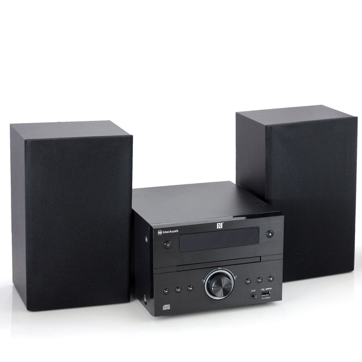 999999 6934180390139 blackweb cd stereo system with bluetooth� streaming walmart canada  at crackthecode.co