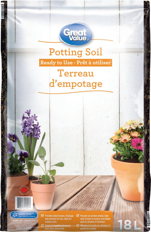 Great Value Potting Soil Walmart Canada