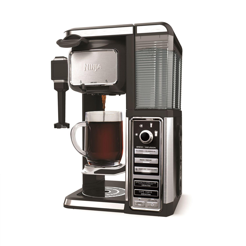 Ninja Coffee Bar Single Serve Home Brewing System Auto iQ Espresso Latte Iced