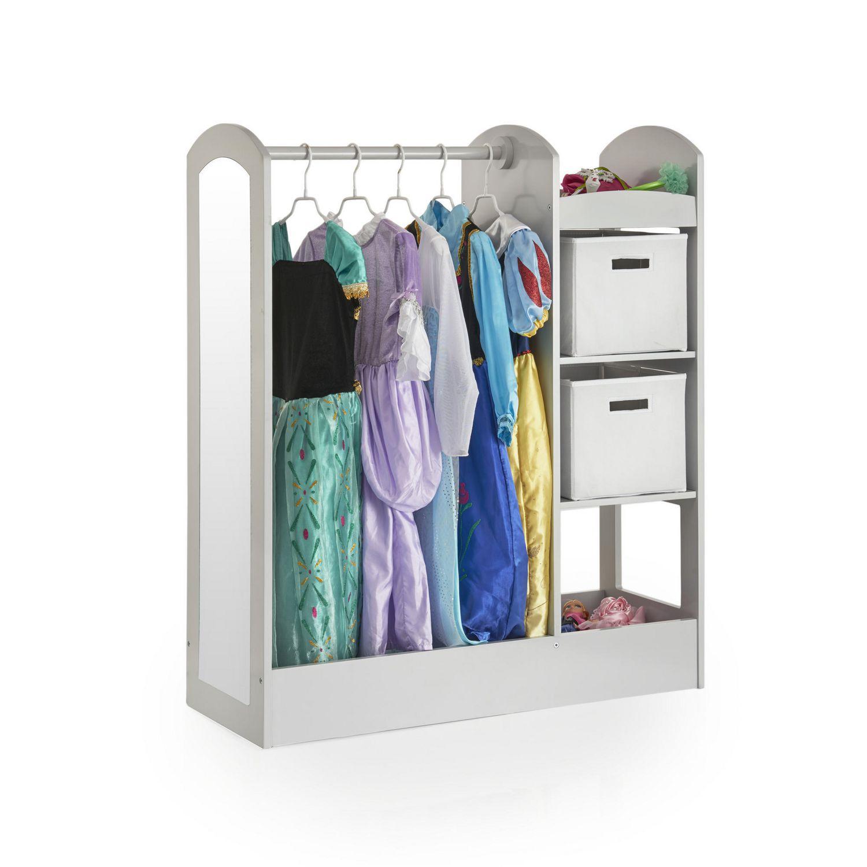 Meuble De Rangement Pour Garderie meuble de rangement pour costumes see and store de guidecraft en gris