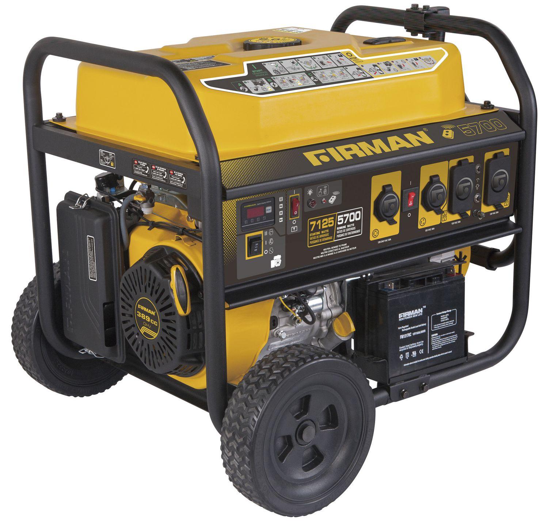 Firman Power Equipment P Gas Powered 7100 5700 Watt