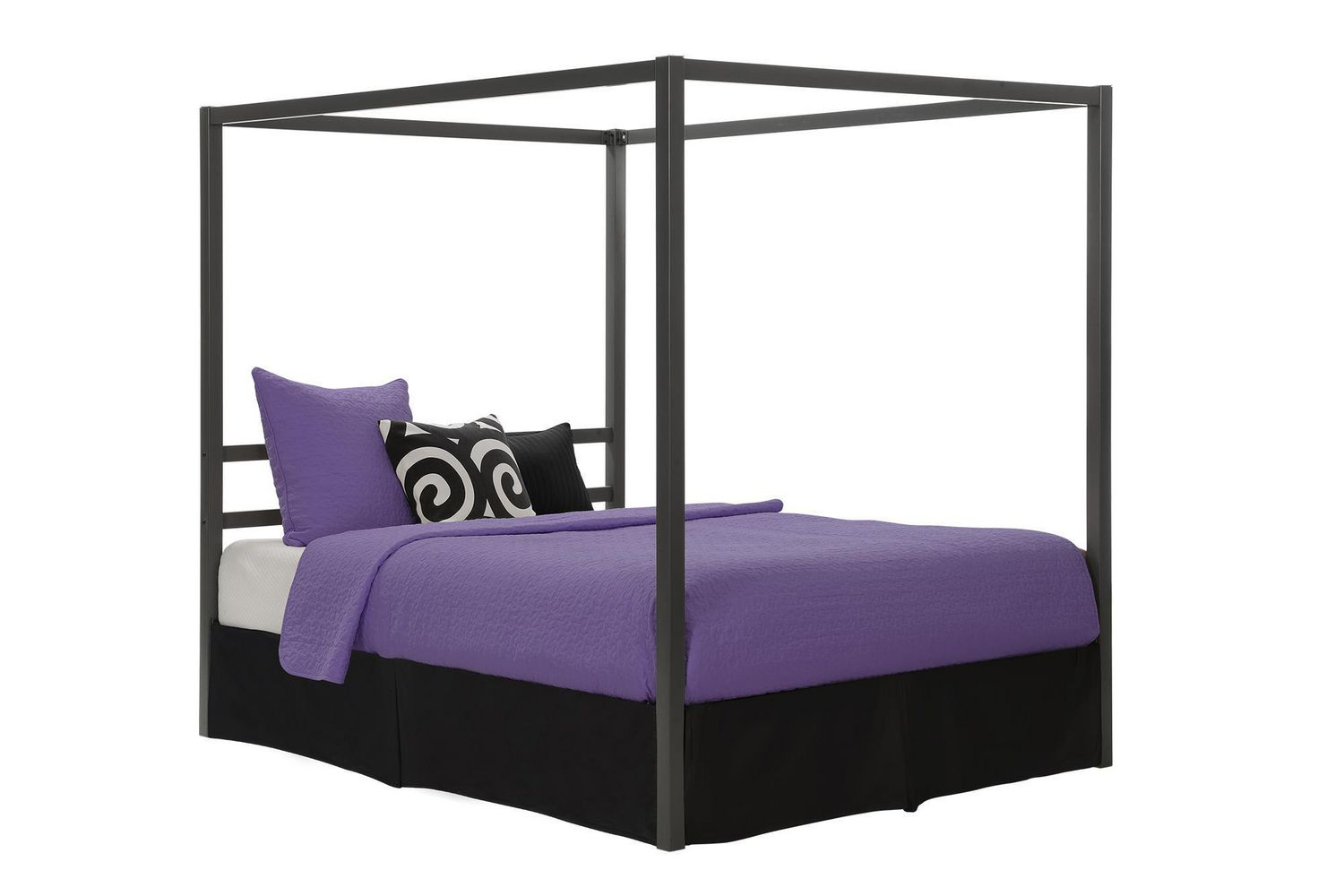 359afa66aa7b DHP Modern Canopy Bed - image 1 of 5 zoomed image