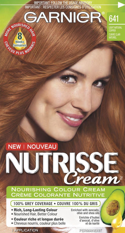 Garnier Nutrisse Cream Hair Color In 563 Intense Medium Red Copper