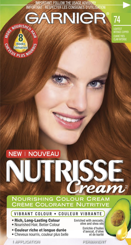 Garnier Nutrisse Cream Permanent Haircolour Cream | Walmart Canada