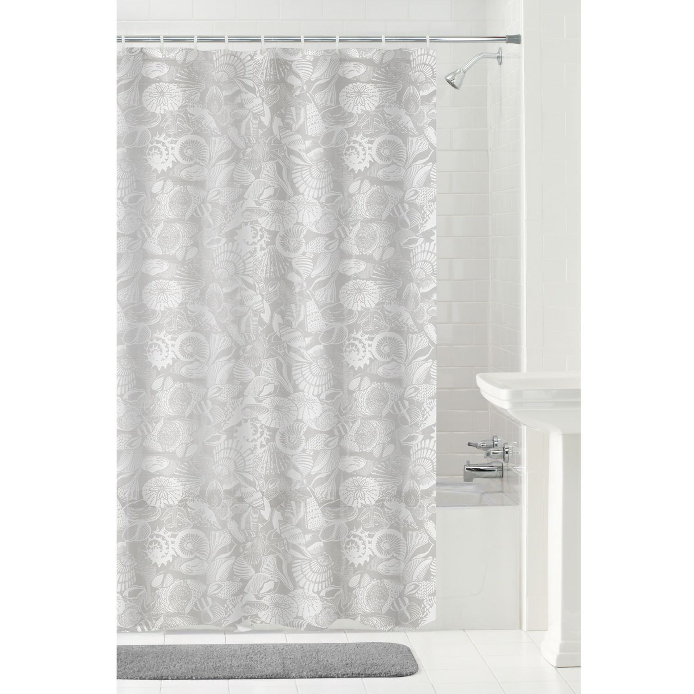 mainstays seashells peva shower curtain | walmart canada