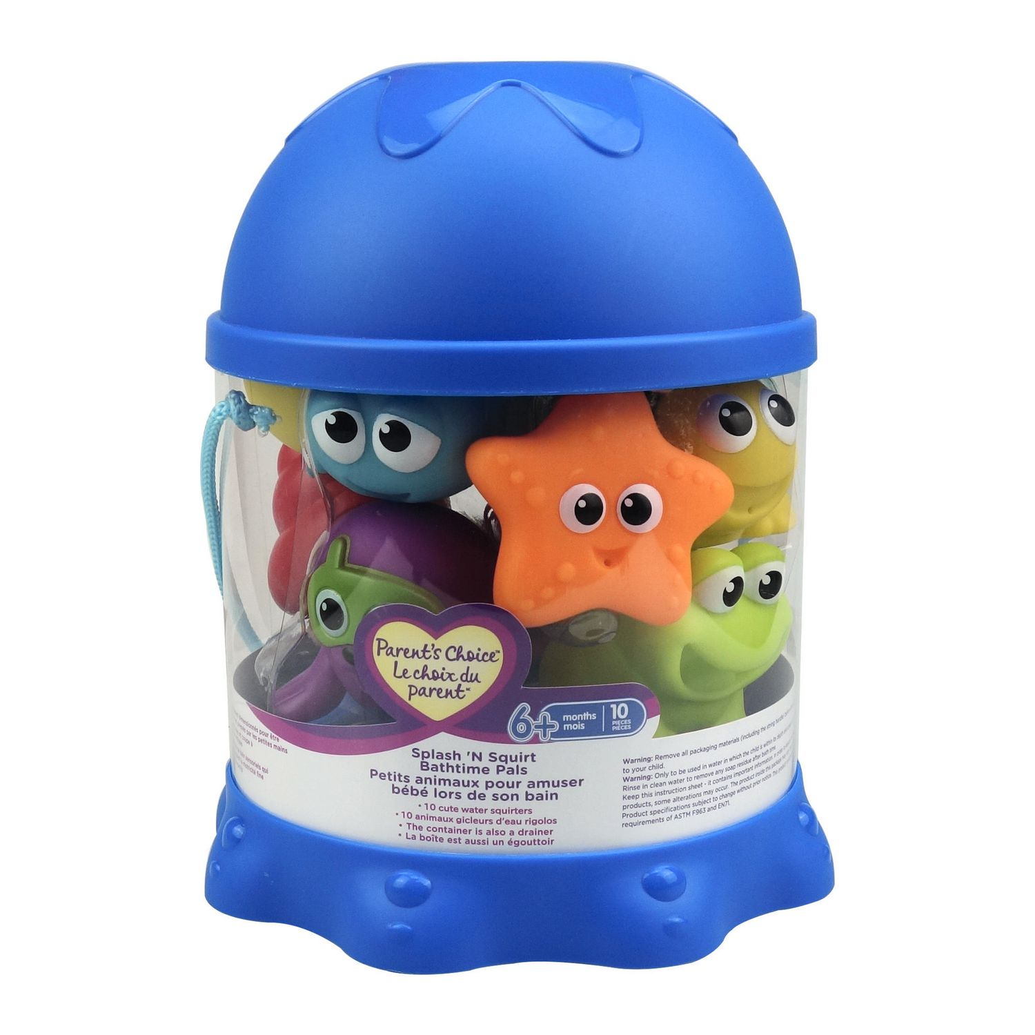 Parent\'s Choice Splash\'N Squirt Bath Toys | Walmart Canada