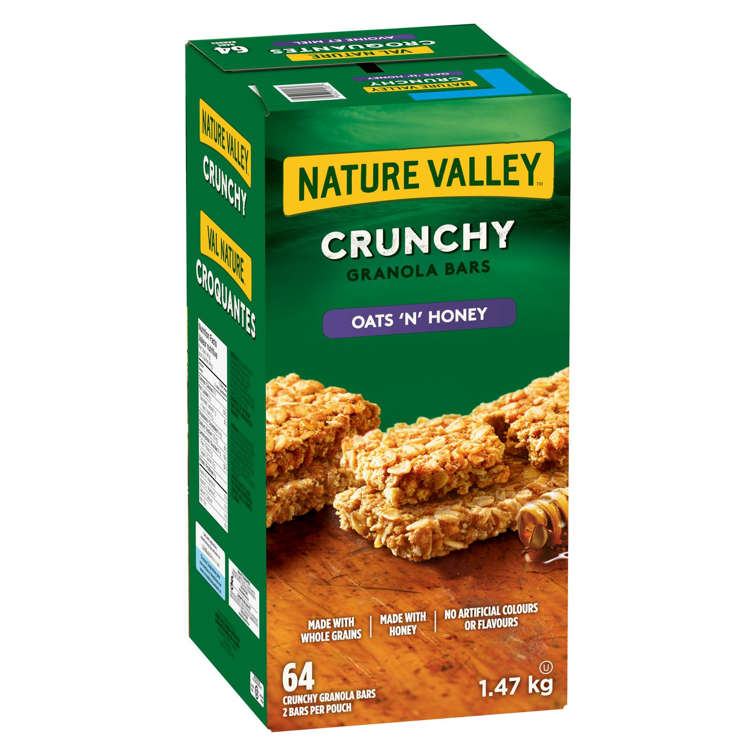 Nature Valley™ Crunchy Oats & Honey Bars, Value Pack ...