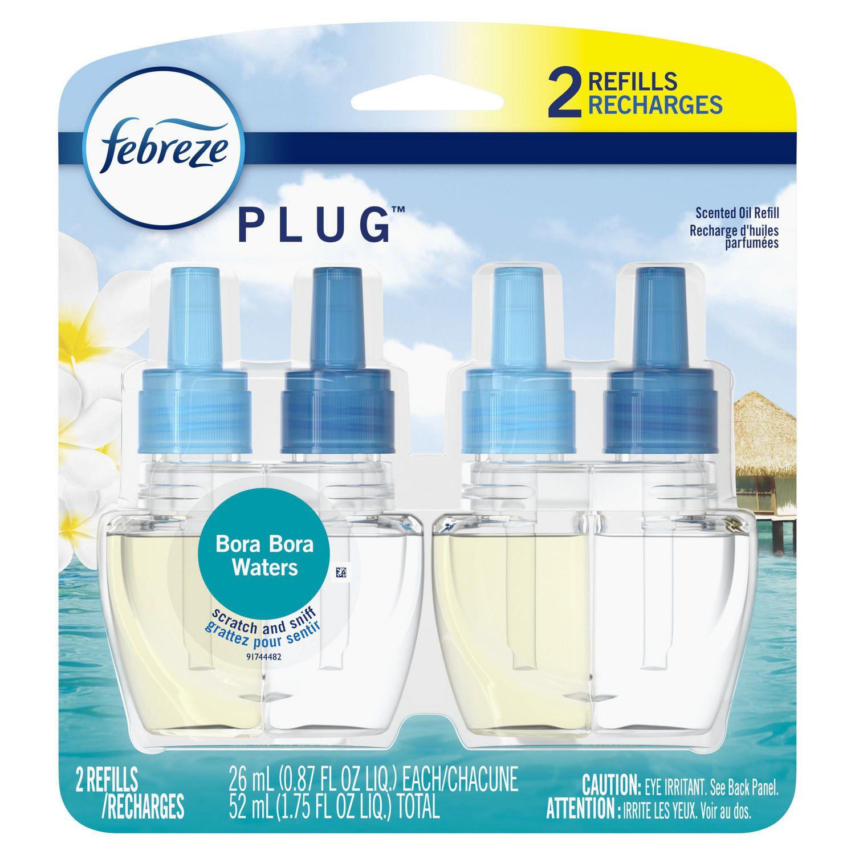 Febreze PLUG Air Freshener Refills Bora Bora Waters ...