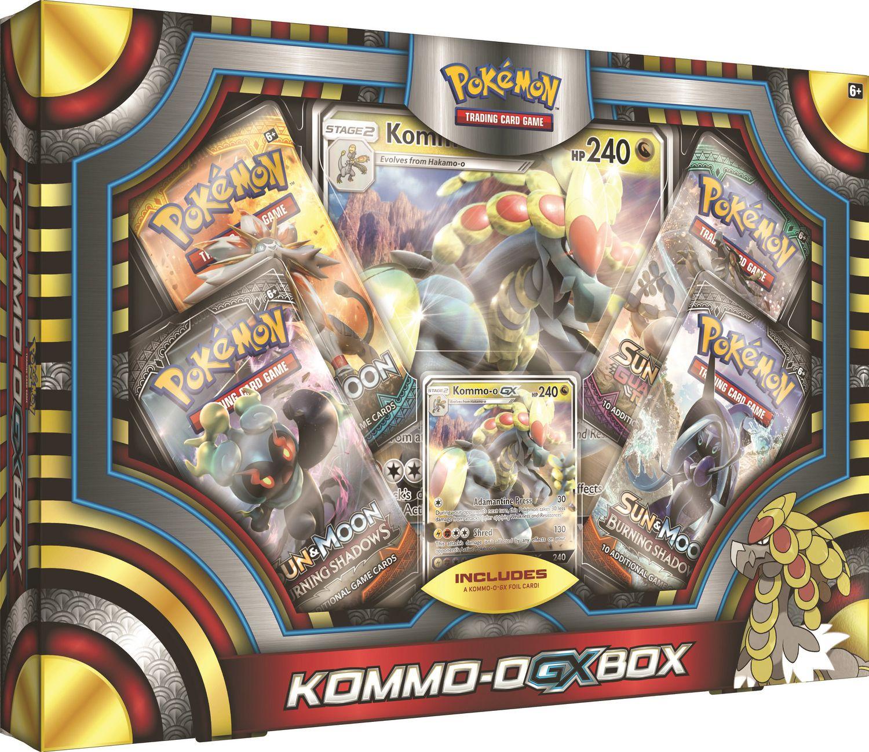 Pokemon Kommo O Gx Box English Walmart Canada