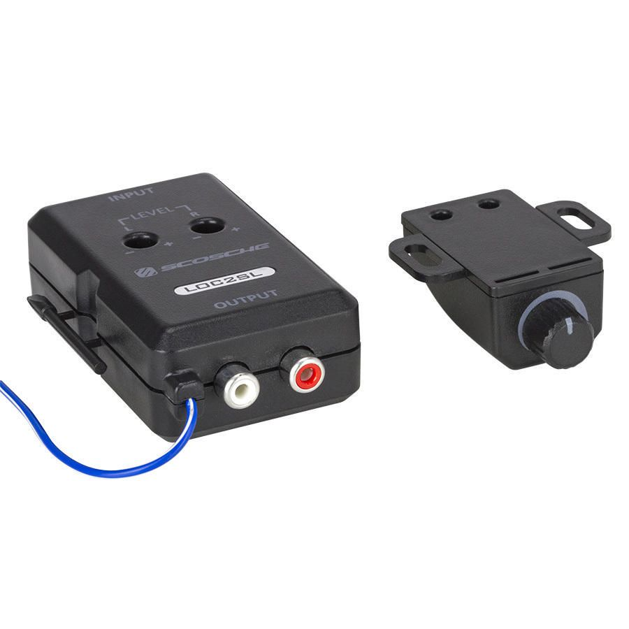 buy automotive audio accessories online walmart scosche loc2sl line out converter bass control