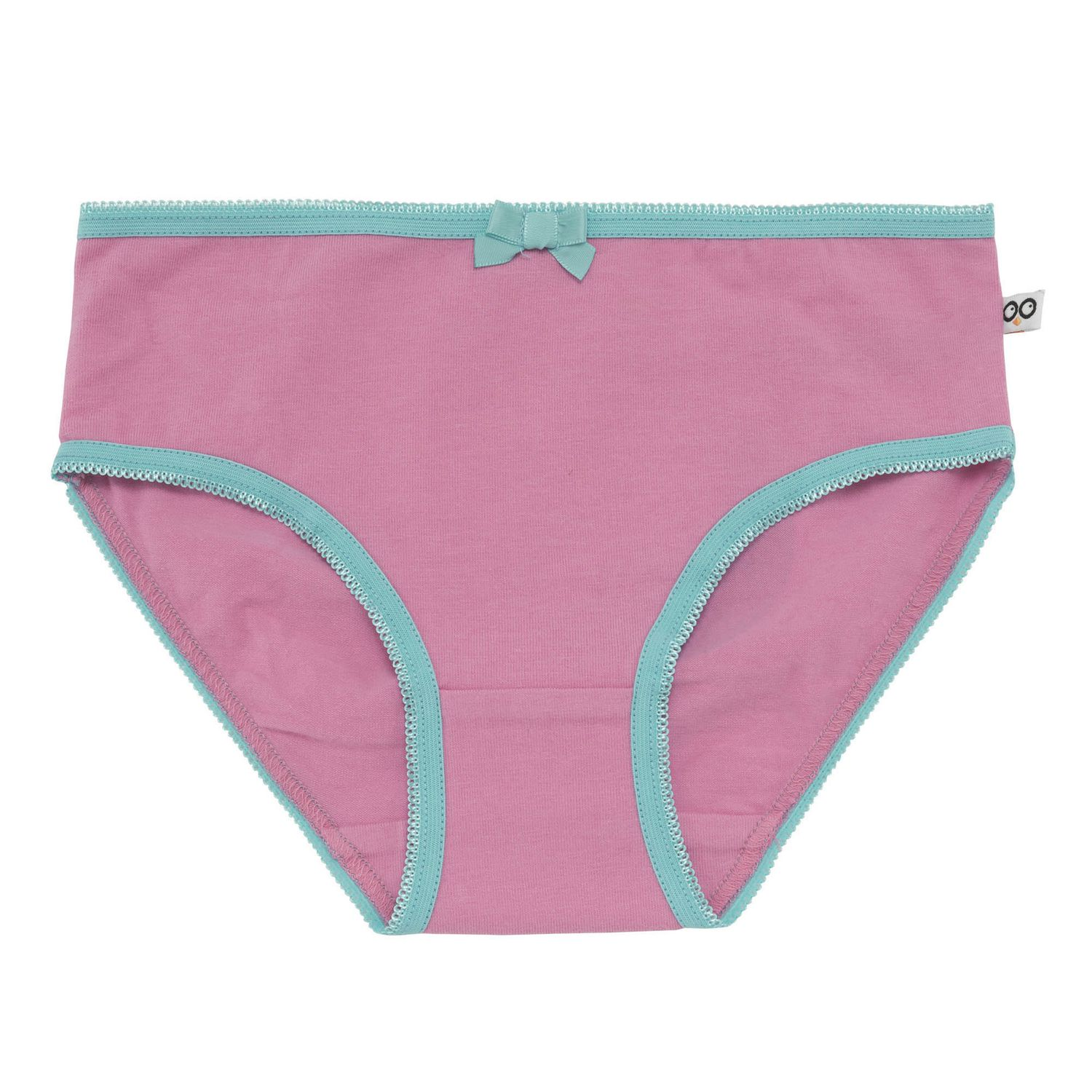 Zoocchini Organic Girls Underwear Coral Caribe - 3 Pack  ee1f4af2e