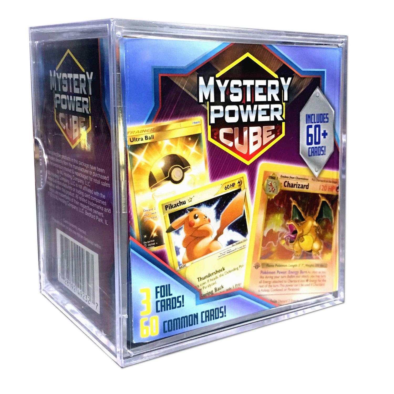 Common Cards rare holos Pokemon mystery power box Random Booster Packs GIFT