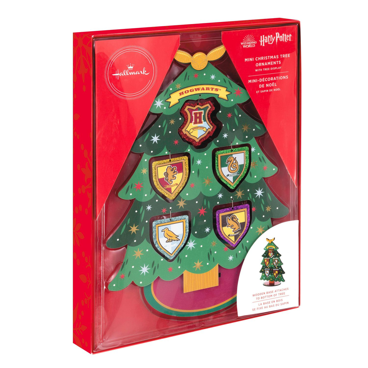 Hallmark Harry Potter Hogwarts Miniature Christmas Tree Set With Mini Ornaments Walmart Canada