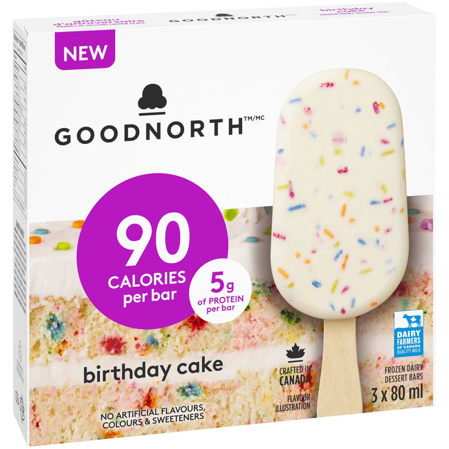 GOODNORTHTM Birthday Cake Frozen Bars