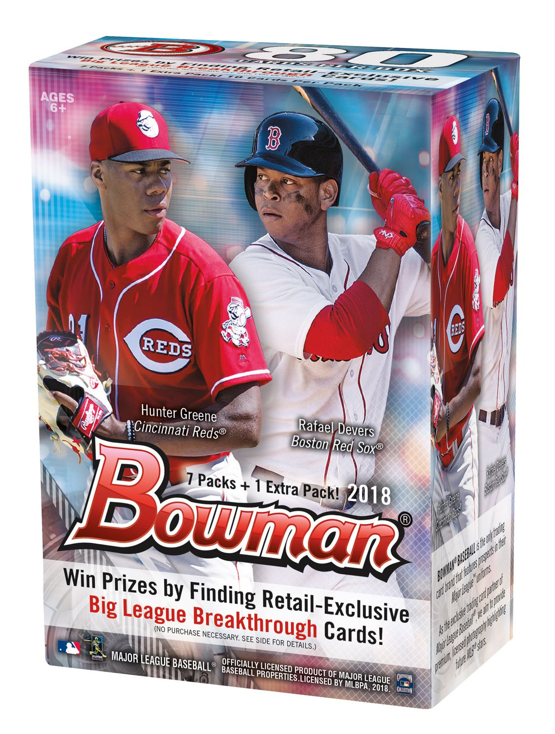 2018 Topps Bowman Mlb Baseball Value Box Trading Cards