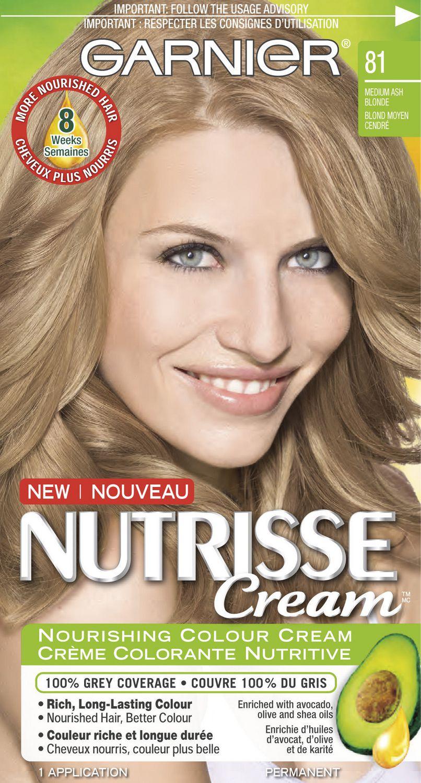 Garnier Nutrisse Cream Nourishing Permanent Haircolour Cream