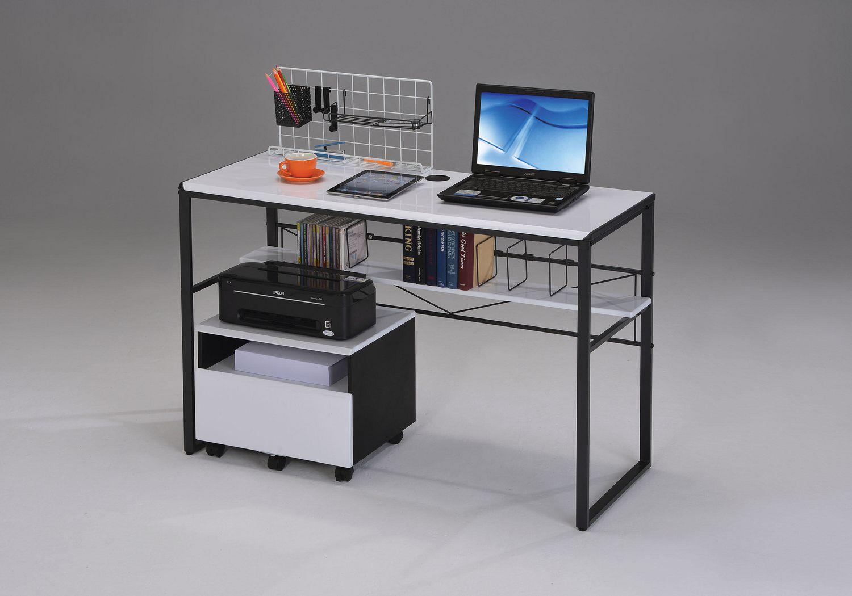 Bureau d ordinateur ellis d acme noir et blanc walmart canada
