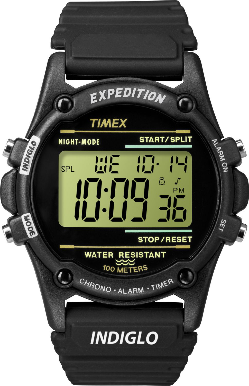 Men's Timex Indiglo Expedition Trail Mate Alarm ... |Timex Expedition Digital Watches Men