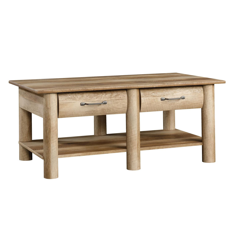 - Sauder® Boone Mountain Collection Coffee Table, Craftsman Oak