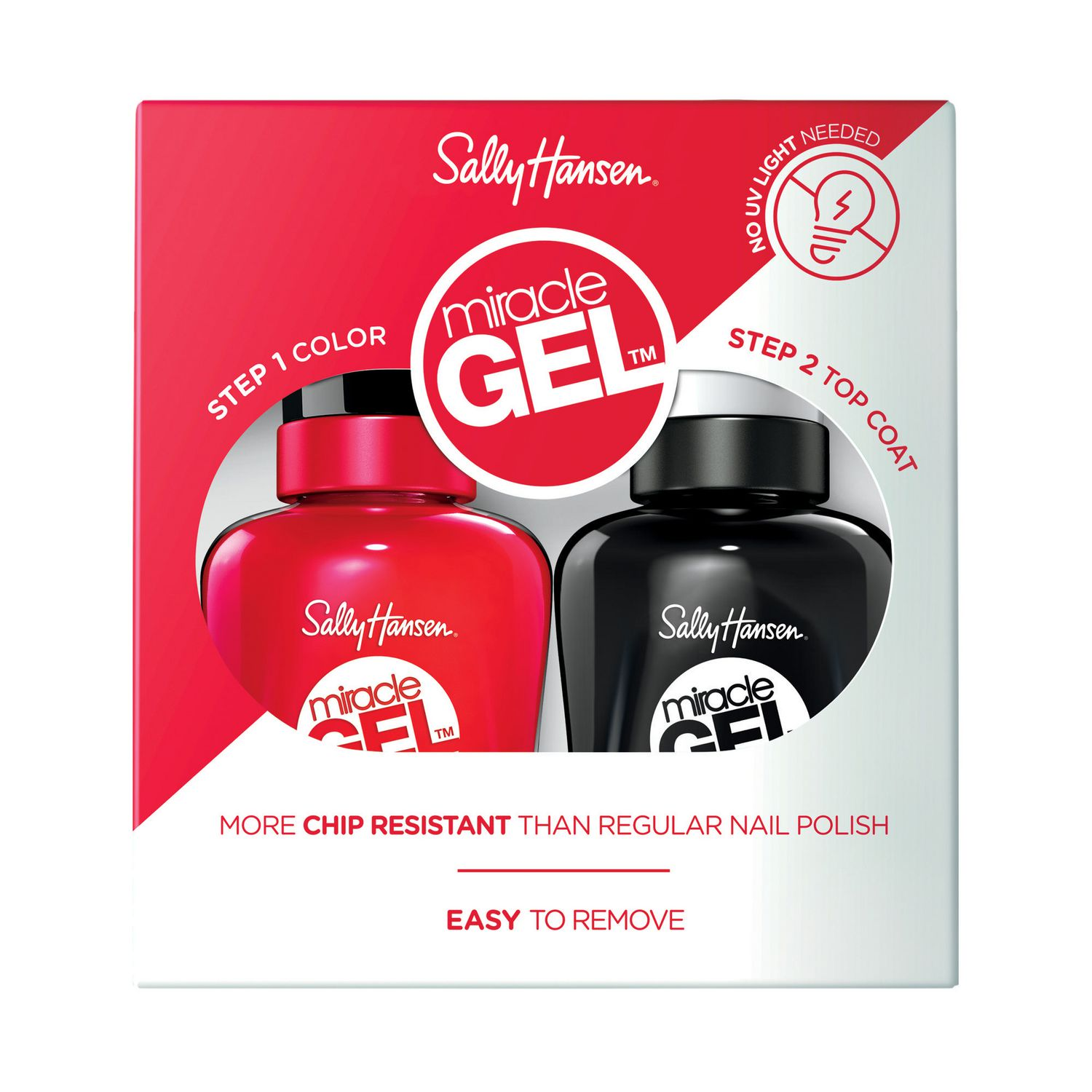 Sally Hansen - Miracle Gel Nail Color, Duo Pack | Walmart Canada