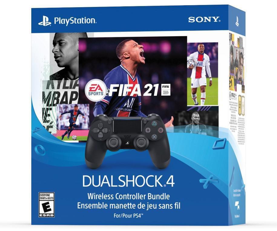 EA SPORTS™ FIFA 21 DUALSHOCK®4 Wireless Controller Bundle ...