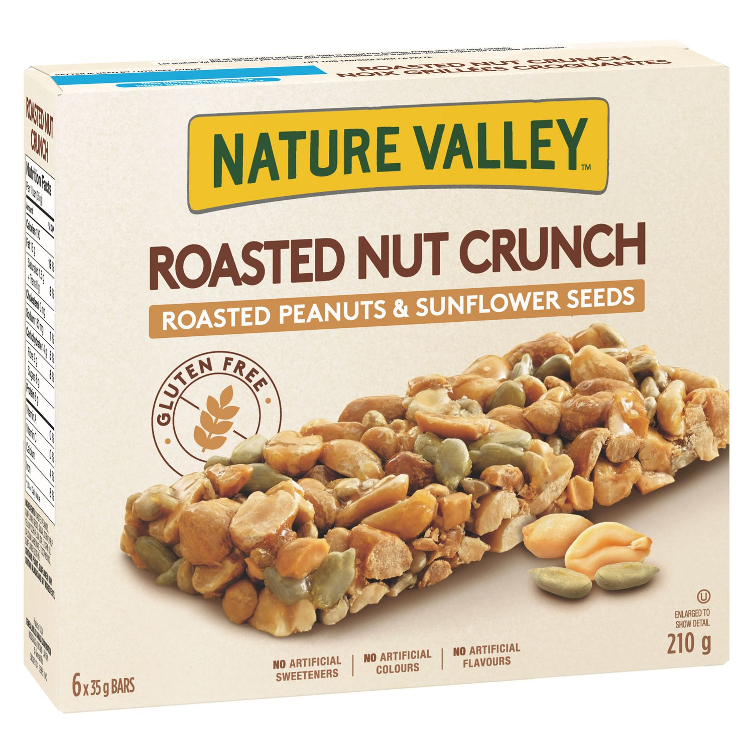 Nature Valley Gluten Free Roasted Nut Crunch bar | Walmart ...