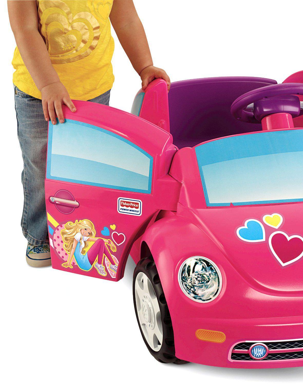 fisher price power wheels barbie volkswagen new beetle walmartca
