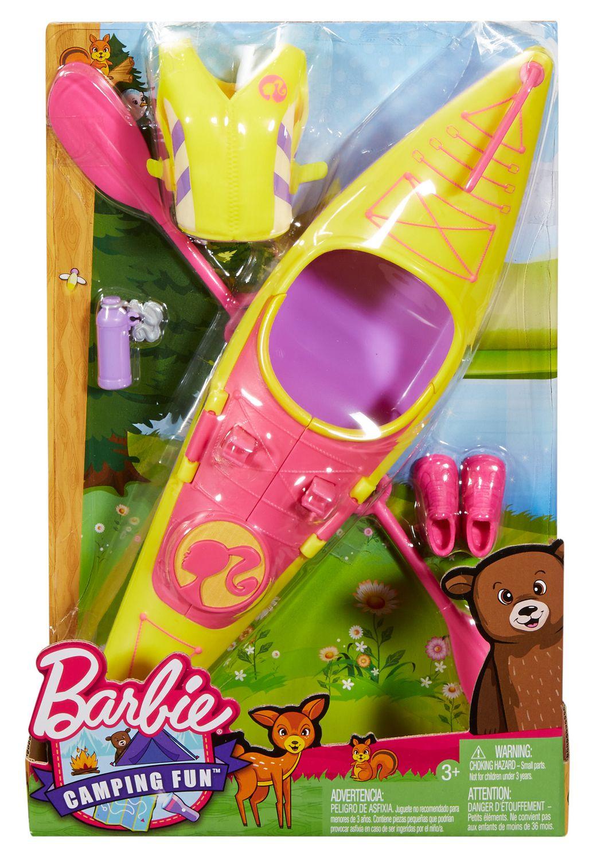 Barbie Camping Fun Kayak Accessories