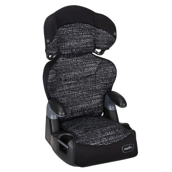 Evenflo Big Kid High Back 2 In 1 Belt, Evenflo Big Kid Lx Booster Car Seat Safety Ratings