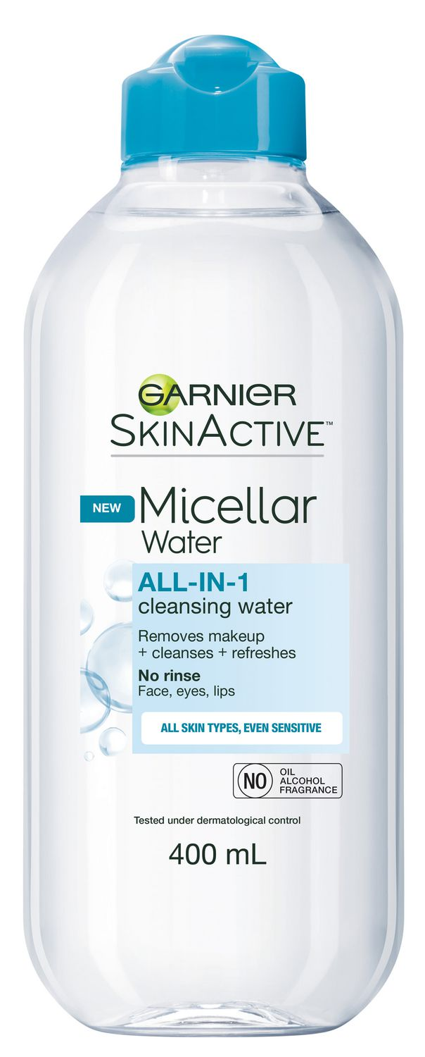 Garnier SkinActive Micellar Cleansing Water All-in-1 Waterproof, 400 mL |  Walmart Canada