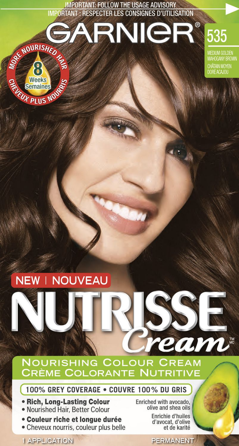 Garnier Nutrisse Cream Nourishing Permanent Haircolour Cream