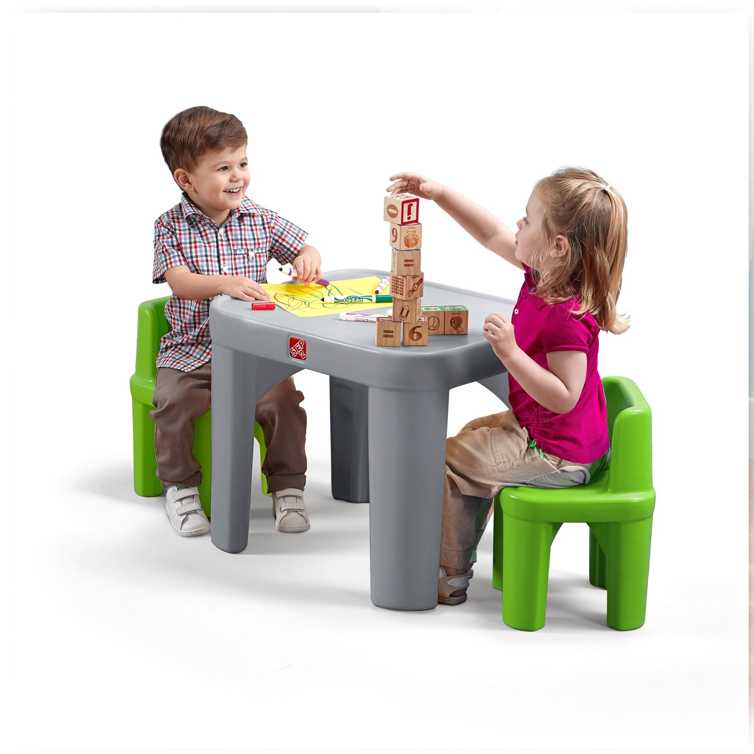 sc 1 st  Walmart Canada & Step2 Mighty My Size Table u0026 Chairs Set | Walmart Canada