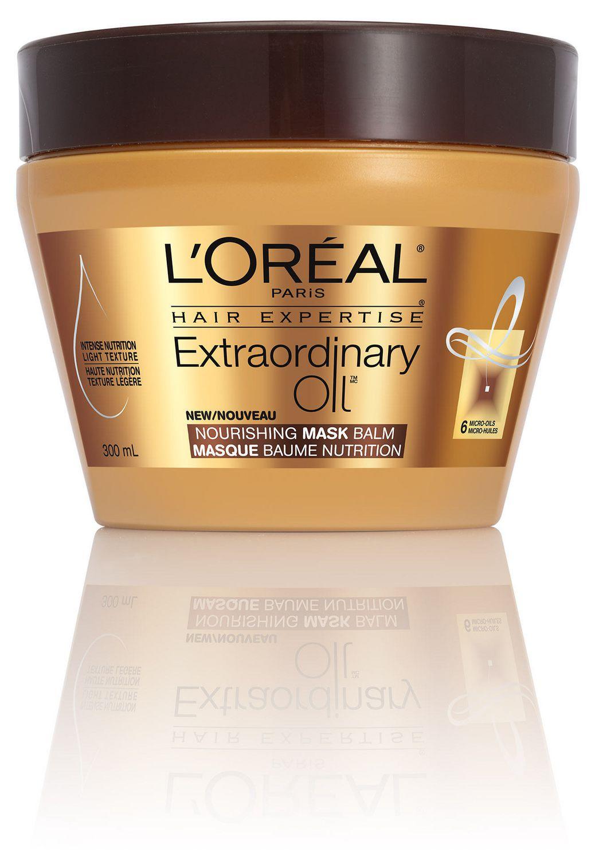 L Oreal Paris Hair Expertise Extraordinary Oil Nourishing Mask Balm 300 Ml Walmart Canada