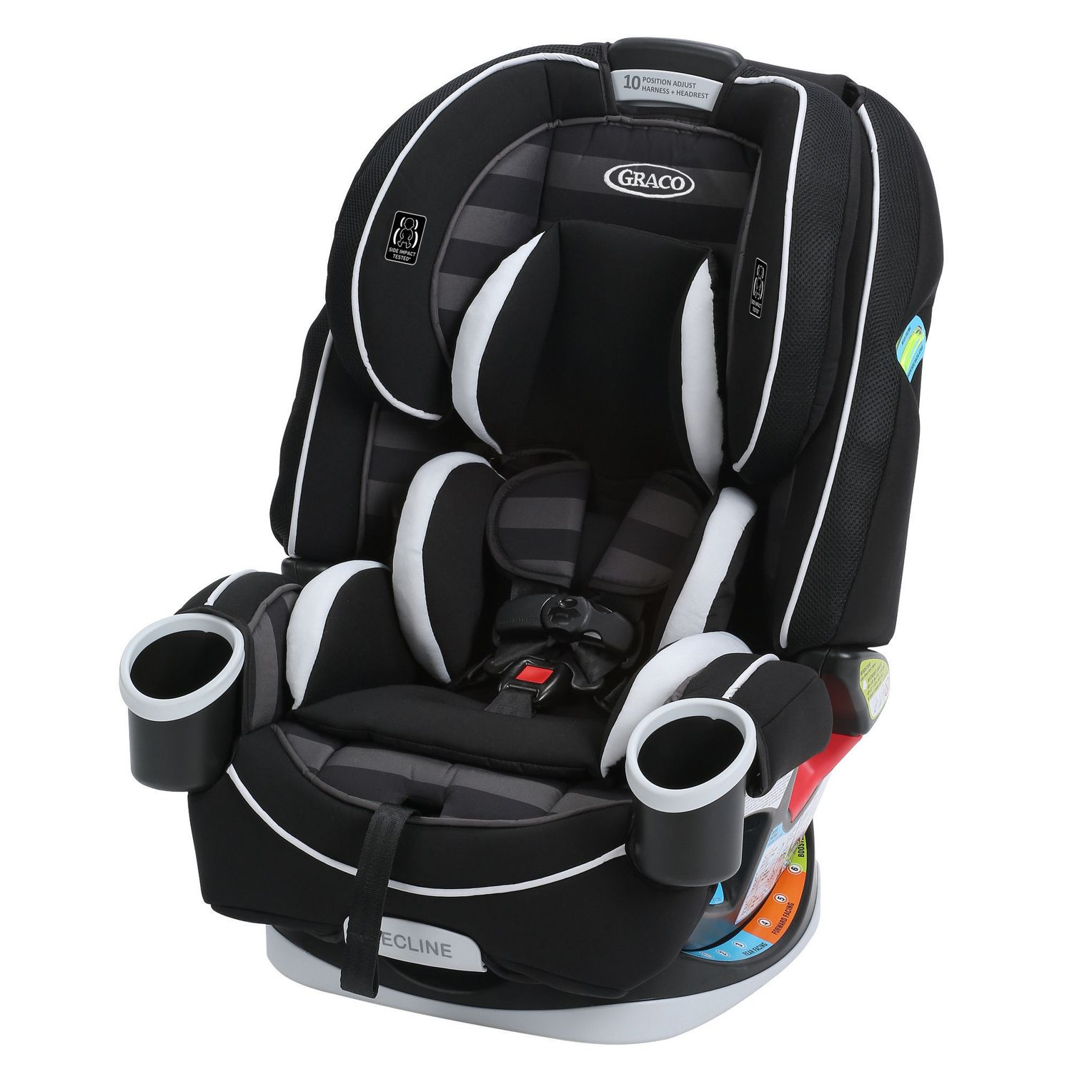 Black and grey Graco 4Ever 4-in-1 convertible car seat - best convertible car seat
