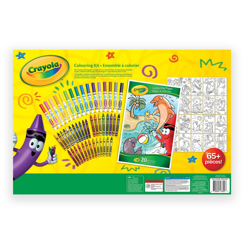 Crayola Colouring Kit | Walmart Canada