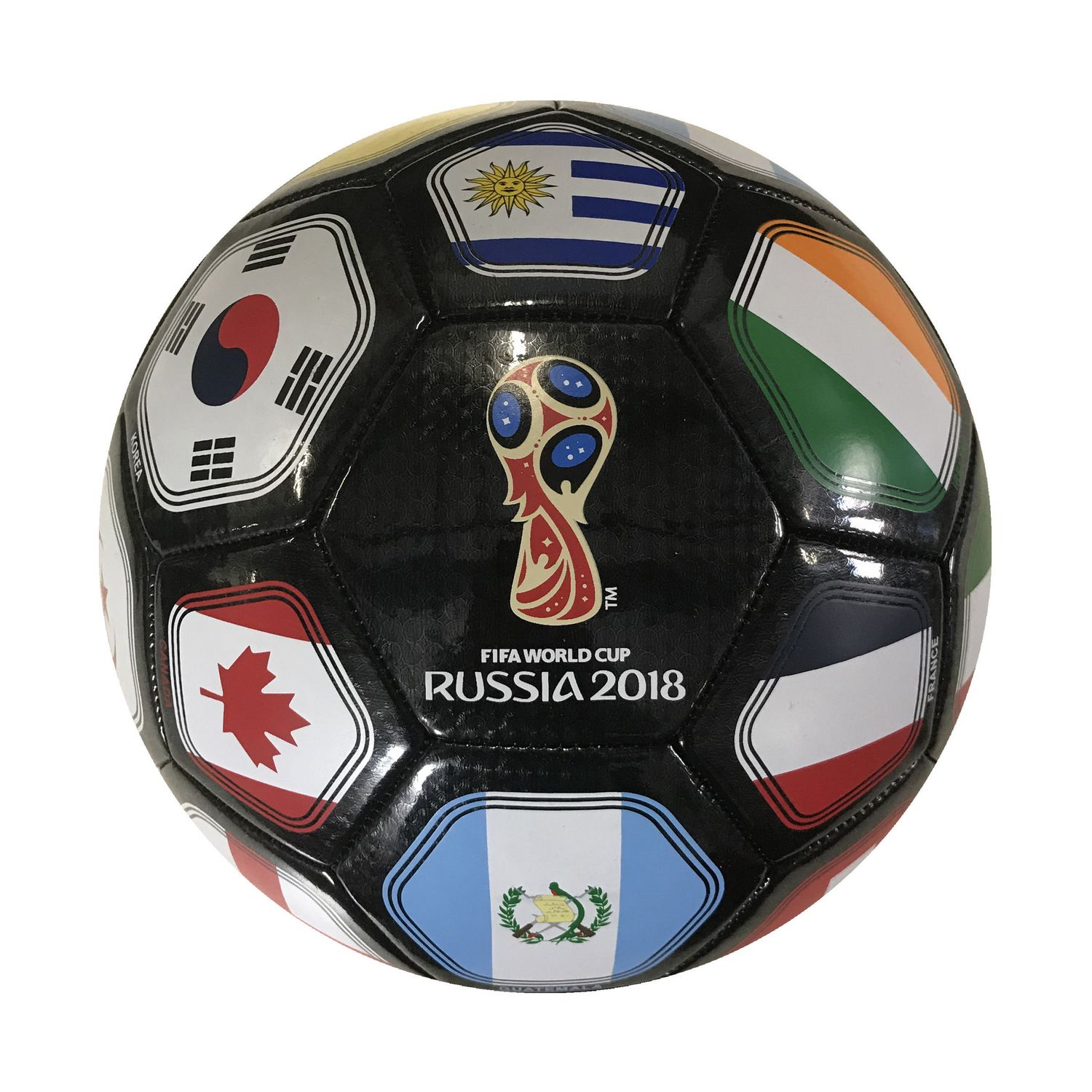 FIFA 2018 World Cup Russia Souvenir Size 5 Soccer Ball - White - image 1 of  zoomed image 41223519c299